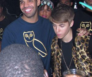 Drake, justin bieber, and beliebers image