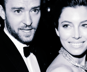 b&w, couple, and jessica biel image