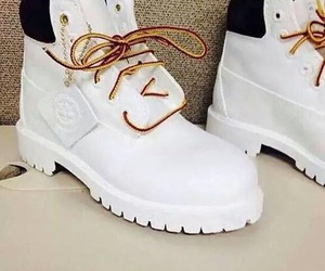 timberland, white, and shoes image