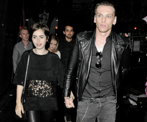 lily collins, jamily, and love image