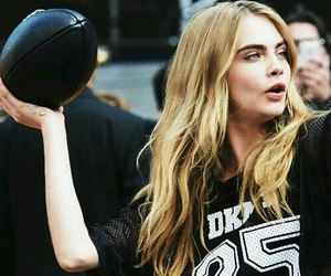 cara delevingne, model, and sport image