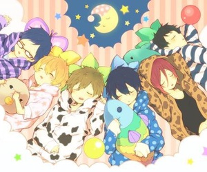 anime, free!, and cute image