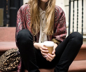 model and coffee image
