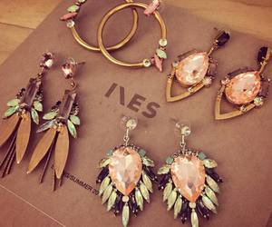 earrings, jewelry, and pretty image