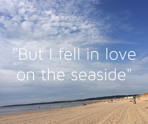 beach, grunge, and Lyrics image