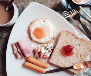 breakfast, coffee, and dish image