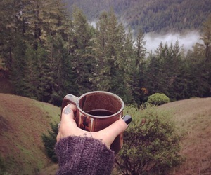 coffee, good day, and view image
