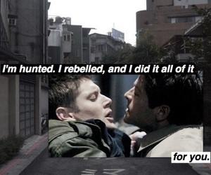 dean winchester, phrase, and spn image