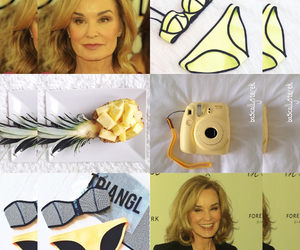 jessica lange, american horror story, and yellow image