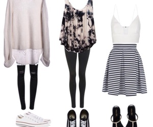 accessoires, clothes, and converse image