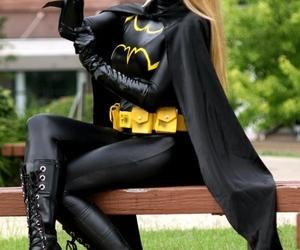 bat, batgirl, and cosplay image