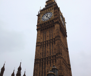 Big Ben, grey, and brown image