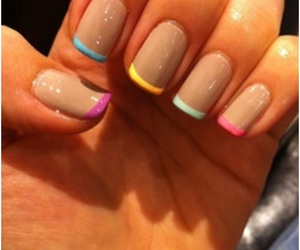 color, nail, and nail polish image