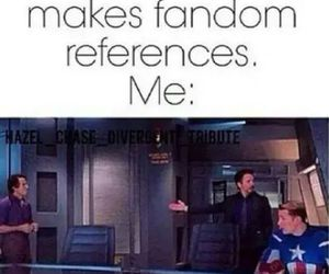 fandom, Avengers, and funny image