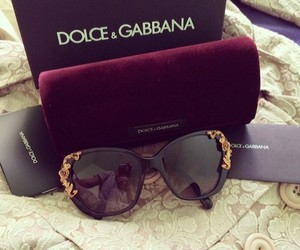 sunglasses, Dolce & Gabbana, and luxury image
