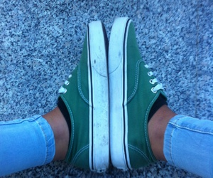 green, skate, and style image