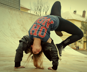breakdance, dance, and girl image