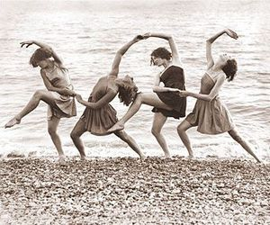dance, dancing, and black and white image
