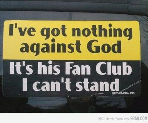 god, religion, and funny image