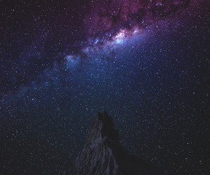 night, sky, and space image