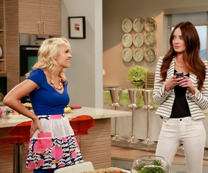 caroline, emily osment, and young & hungry image