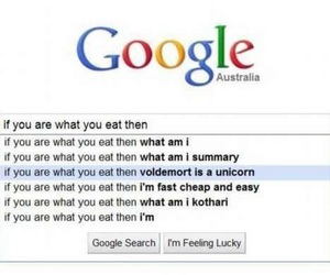 unicorn, voldemort, and google image