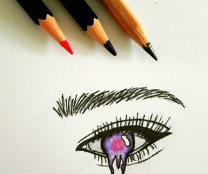 black, pink, and drawing image