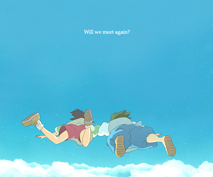 spirited away, wallpaper, and love image