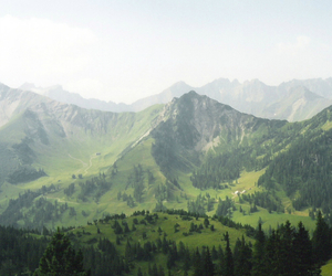 beautiful, gras, and mountain image
