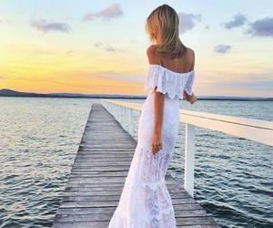 dress and sunset image