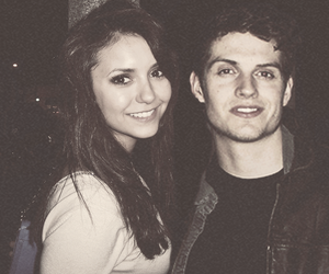 Nina Dobrev, the vampire diaries, and teen wolf image