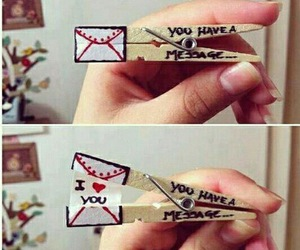 diy, message, and sweet image