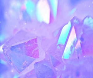 crystal, pastel, and pale image