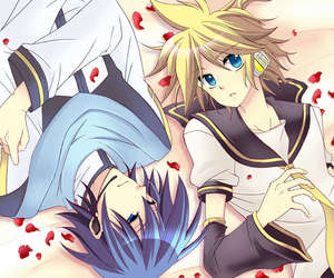 kaito, vocaloid, and kagamine image