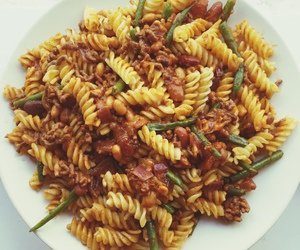 food, pasta, and taste image