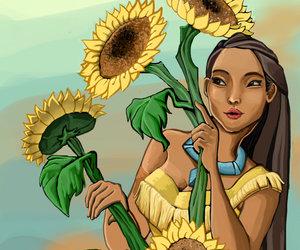 disney, disney princess, and illustration image