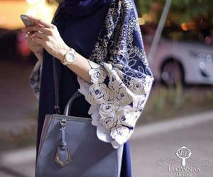arabic, hijab, and abaya image