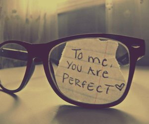 perfect, love, and glasses image
