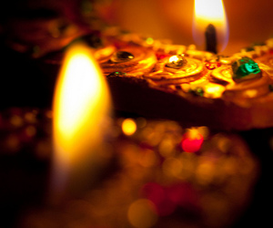 light, candle, and diwali image