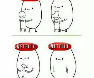 netflix, life, and funny image