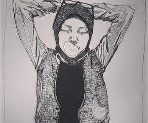 arabic, beauty, and hijab image