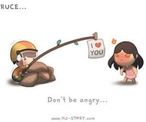 love, angry, and love is image