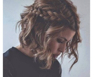 beautiful, braids, and curly image