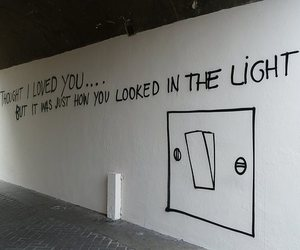 quotes, light, and wall image