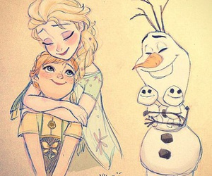 frozen, art, and disney image
