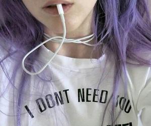 grunge, hair, and wifi image