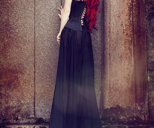 goth and red hair image