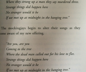 book, song, and katniss image