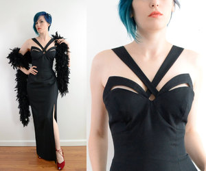 black, cut out, and sexy image