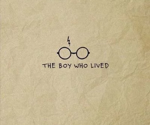 harry potter, lightning scar, and the boy who lived image